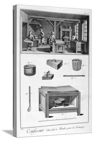 Confectioners, 1751-1777--Stretched Canvas Print