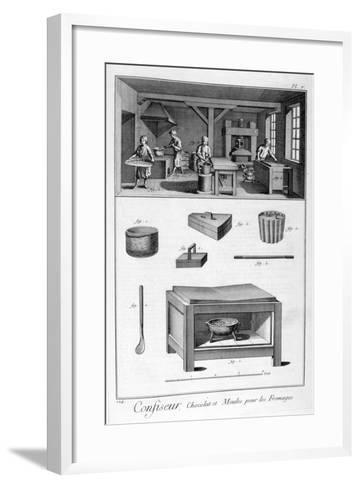 Confectioners, 1751-1777--Framed Art Print