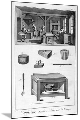 Confectioners, 1751-1777--Mounted Giclee Print
