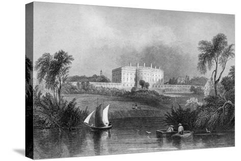 The White House, Washington D.C., USA, 1841--Stretched Canvas Print
