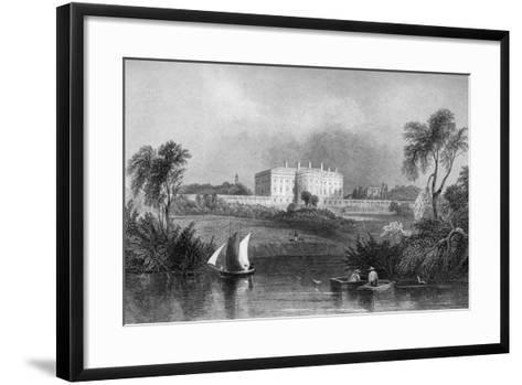 The White House, Washington D.C., USA, 1841--Framed Art Print