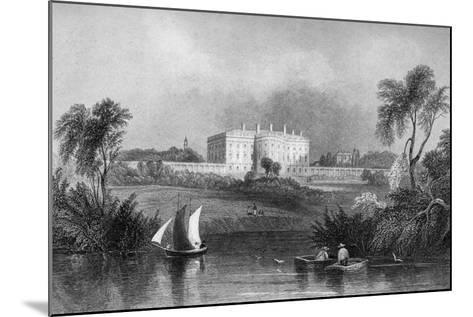 The White House, Washington D.C., USA, 1841--Mounted Giclee Print