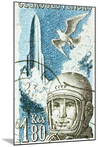 Yuri Gagarin, Soviet Russian Cosmonaut, 1961--Mounted Giclee Print