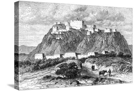 The Potala Palace in Lhasa, Tibet, in the 17th Century--Stretched Canvas Print