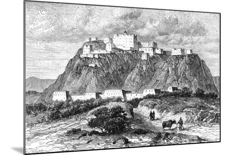 The Potala Palace in Lhasa, Tibet, in the 17th Century--Mounted Giclee Print