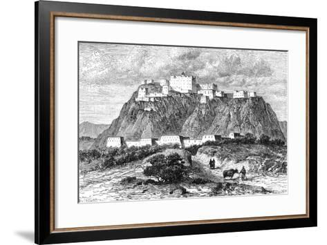 The Potala Palace in Lhasa, Tibet, in the 17th Century--Framed Art Print