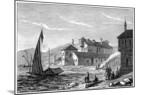 Where Lord Byron Died, Missolonghi, Greece, 1888--Mounted Giclee Print