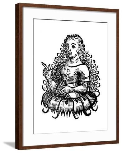 Cimmerian Sibyl, 1493--Framed Art Print