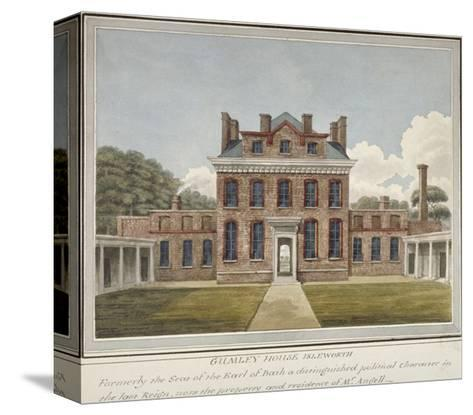 Gumley House, Twickenham Road, Isleworth, Middlesex, C1800--Stretched Canvas Print