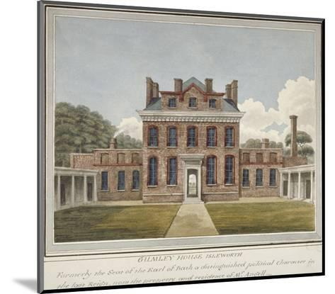 Gumley House, Twickenham Road, Isleworth, Middlesex, C1800--Mounted Giclee Print