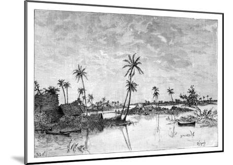 Indian Settlement on the Islands of San Blas Bay, C1890--Mounted Giclee Print