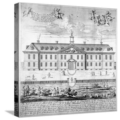 Morden College, St German's Place, Greenwich, London, C1750--Stretched Canvas Print