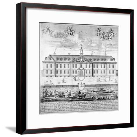 Morden College, St German's Place, Greenwich, London, C1750--Framed Art Print