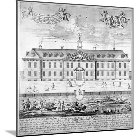 Morden College, St German's Place, Greenwich, London, C1750--Mounted Giclee Print