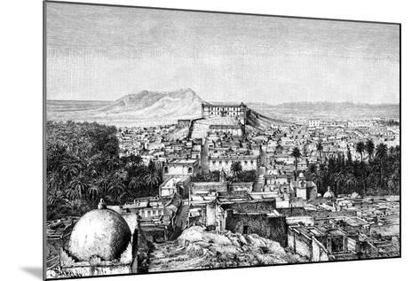 Laghouat, Algeria, 1895--Mounted Giclee Print