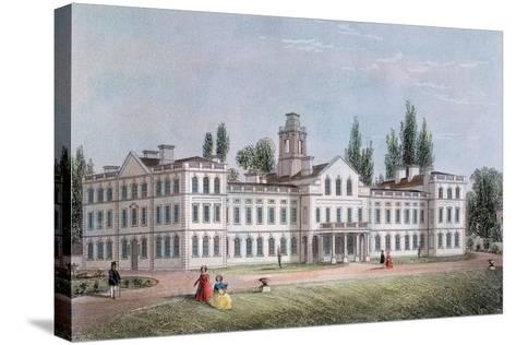 Smallpox Hospital, Highgate, London, C1871--Stretched Canvas Print