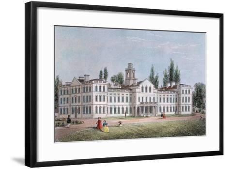Smallpox Hospital, Highgate, London, C1871--Framed Art Print