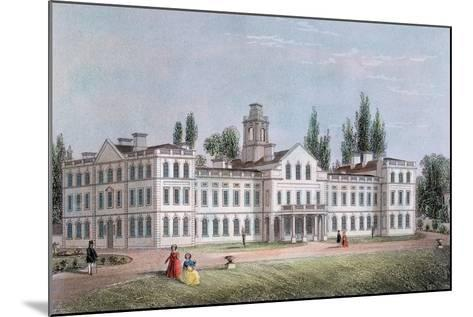 Smallpox Hospital, Highgate, London, C1871--Mounted Giclee Print