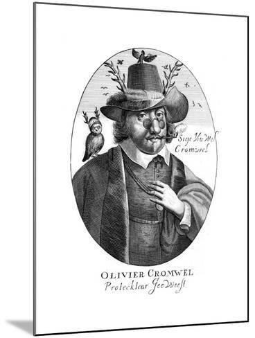 Oliver Cromwell--Mounted Giclee Print