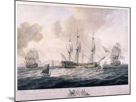 The Pitt, 1787--Mounted Giclee Print