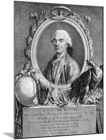 Georges-Louis Leclerc, Comte De Buffon, French Naturalist, 18th Century--Mounted Giclee Print