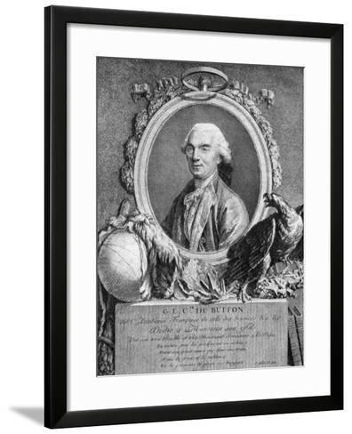 Georges-Louis Leclerc, Comte De Buffon, French Naturalist, 18th Century--Framed Art Print