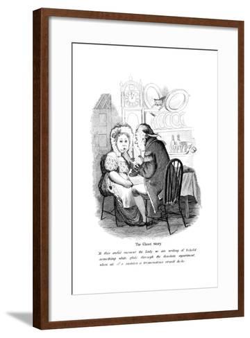 The Ghost Story--Framed Art Print
