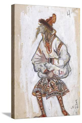 Costume Design for the Ballet the Rite of Spring (Le Sacre Du Printemp), 1912-Nicholas Roerich-Stretched Canvas Print