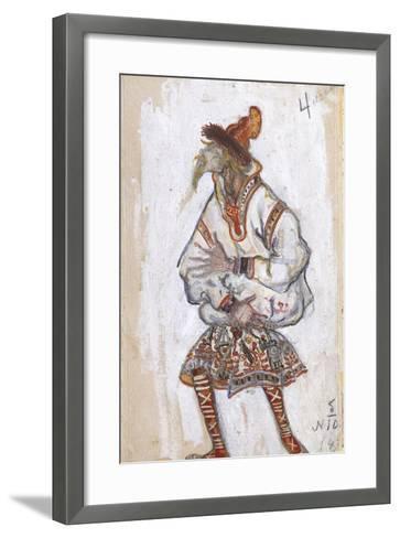 Costume Design for the Ballet the Rite of Spring (Le Sacre Du Printemp), 1912-Nicholas Roerich-Framed Art Print