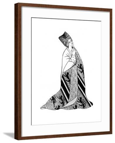 Lady Arderne, Wife of Sir Peter Arderne, Judge and Chief Baron of the Exchequer--Framed Art Print