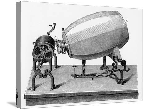Mid-19th Century Phonautograph, C.1906--Stretched Canvas Print