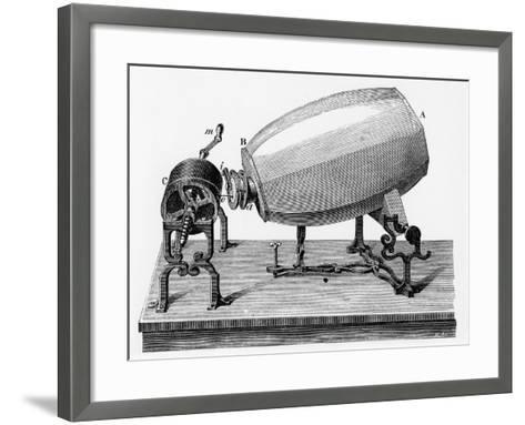 Mid-19th Century Phonautograph, C.1906--Framed Art Print