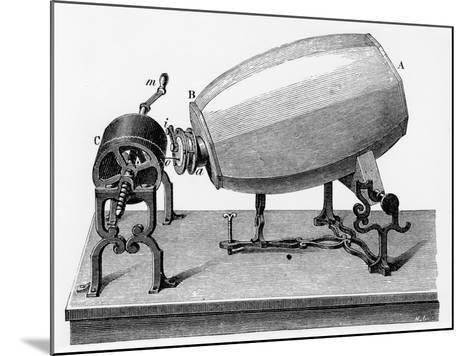 Mid-19th Century Phonautograph, C.1906--Mounted Giclee Print