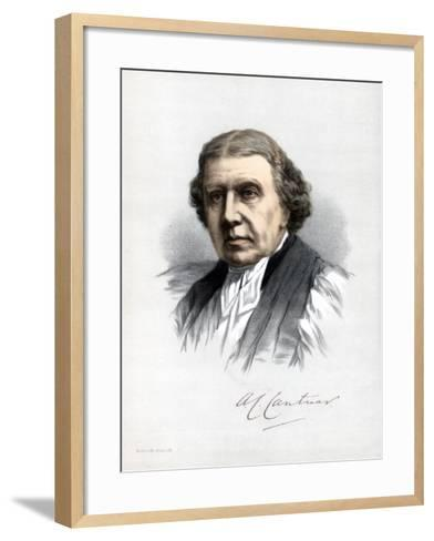Archibald Campbell Tait, Archbishop of Canterbury, C1890-Petter & Galpin Cassell-Framed Art Print