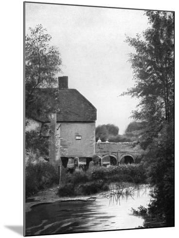 The Millstream, 1911-1912--Mounted Giclee Print