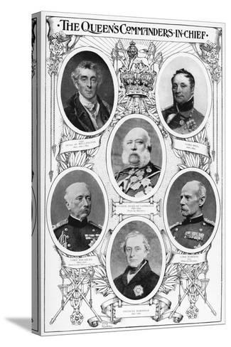 Queen Victoria's Commanders in Chief, 1901--Stretched Canvas Print