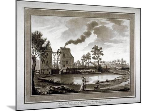 A View of the Fire Engine of Chelsea Waterworks Taken from the Roadside, 1783--Mounted Giclee Print