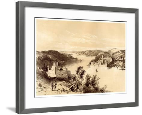 Fortresses of the Dardanelles, Turkey, 19th Century-McFarlane and Erskine-Framed Art Print