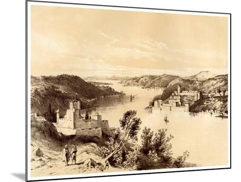 Fortresses of the Dardanelles, Turkey, 19th Century-McFarlane and Erskine-Mounted Giclee Print