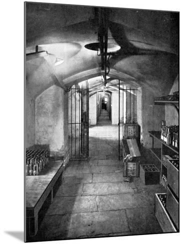 Wine Cellars of the House of Commons, Westminster, C1905--Mounted Giclee Print