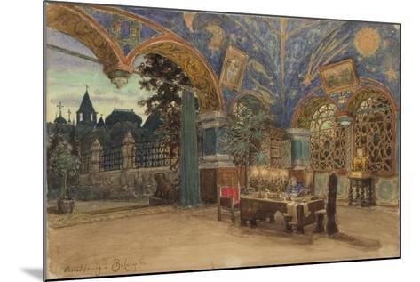 Dining Room of Prince Vasily Golitsyn, 1897-Appolinari Mikhaylovich Vasnetsov-Mounted Giclee Print
