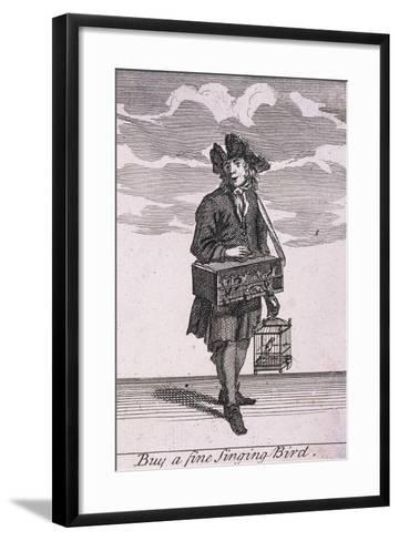 Buy a Fine Singing Bird, Cries of London-Marcellus Laroon-Framed Art Print