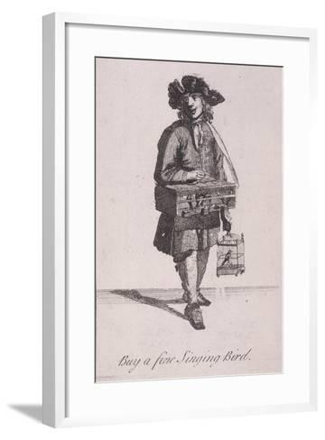 Buy a Fine Singing Bird, Cries of London-Marcellus Laroon-Framed Art Print
