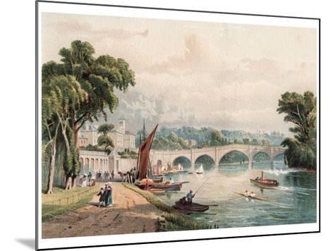 Richmond Bridge, 1880-F Jones-Mounted Giclee Print