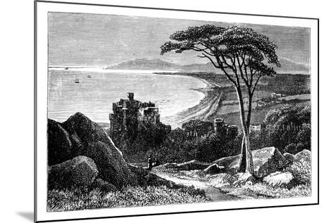 Victoria Castle, with Killiney-Bray Head in the Distance, Ireland, C1888--Mounted Giclee Print
