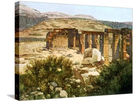 The Ramesseum, Thebes, Egypt, 20th Century--Stretched Canvas Print