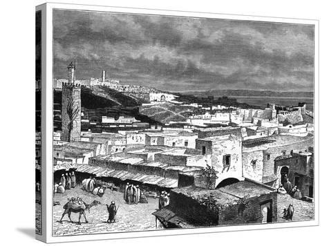 View of Tangier, Morocco, from the Landward Side, C1890--Stretched Canvas Print