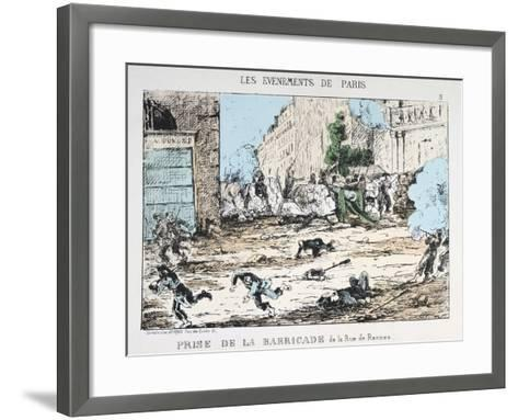 Fall of the Paris Commune, 1871--Framed Art Print