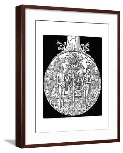 Adam and Eve, 1505--Framed Art Print