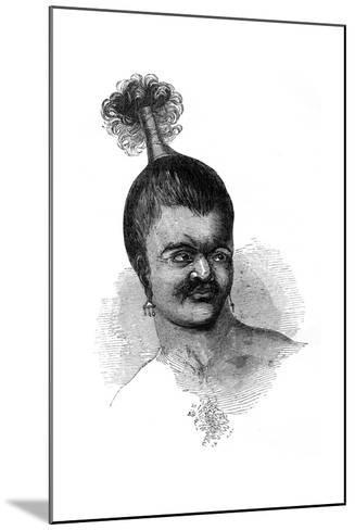 A Native of Omdai Island, 1848--Mounted Giclee Print